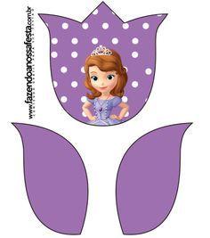 Tulipa Princesinha Sofia da Disney: