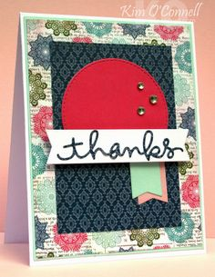Paper Perfect Designs: DS161 - Thanks!
