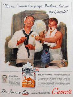 Banjo Tobacco Vintage American Tobacco advert  poster reproduction.