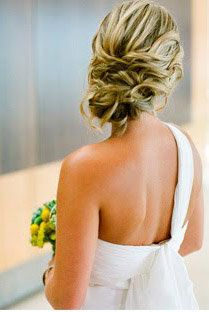 Beautiful #bridal hair style for a #wedding or formal occasion.