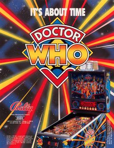 Doctor Who Pinball!  This would be so awesome!