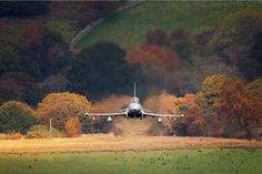 British Eurofighter in Mach Loop, Wales
