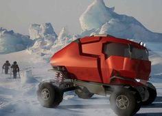 MTD Expedition Truck conquers polar obstacles with ease