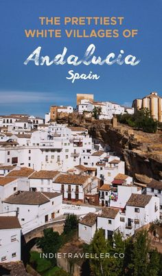 If you're on the lookout for shimmering white-washed towns dating back to Roman and Moorish times, Andalucia has you covered! Here are the prettiest spots to check out. #Travel #TravelTips #SoloTravel #IndieTravel #IndieTraveller #Andalucia #Spain #SpainTravel Andalucia Spain, Andalusia, Holiday Destinations, Travel Destinations, Backpacking Spain, Spain Culture, Solo Travel, Travel Tips, Travel Ideas