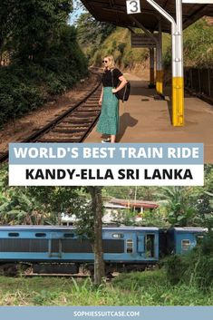 The most amazing experience things to do in Sri Lanka is to take the Kandy to Ella train journey. Said to be one of the most epic train journeys in the world, it's certainly an experience worth adding to your Sri Lanka itinerary #srilanka #srilankatravel #foodsrilanka #travelsrilanka #thingstodoinsrilanka #photographysrilanka #lovesrilanka #sosrilanka #srilankaitinerary #kandytoella #trainridesrilanka