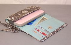 ULTIMATE ROOMY iPhone 4/5/6 Wallet Galaxy S3/S4/Note by Cucio on Etsy