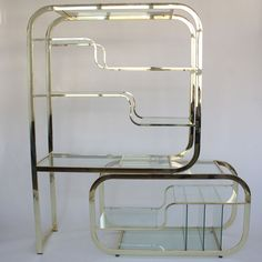 1970's Brass Etagere – MAR-DEN - Selling and sourcing unique vintage furniture