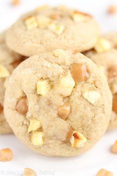 apple caramel cookies, appl cooki, caramel apple cookies, brown sugar apple, caramel apples