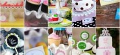 Party theme ideas: girl parties, boy parties, boy/girl parties, bridal showers, baby showers, engagement/wedding, graduation, & holidays
