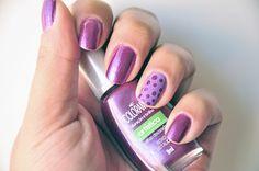 Purple Polka Dots Nails   Flickr – Compartilhamento de fotos!