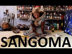 """The Sangoma is the African witch doctor some of whom will go to extreme lengths to extract """"powerful muti"""" from their victims. African Witch Doctor, Politicians, Love Life, South Africa, Health Care, Police, Youtube, Lost, Law Enforcement"""