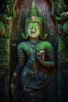 Terracotta statue, Chiang Mai, Thailand