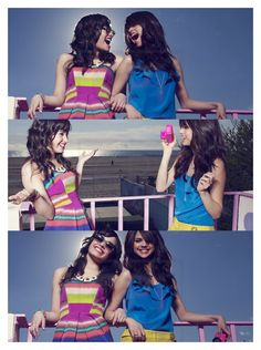 Photo of selena and demi! for fans of Selena Gomez and Demi Lovato.