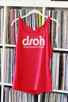 DSOH Logo Girls Tank Top (Gray, Red, Blue, Black), $25.00
