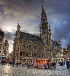 City hall, Grand place, Brussels
