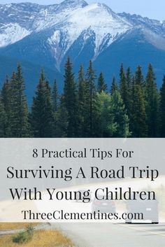 Tips for traveling with kids, road trips with children, what to pack, how to prepare, car travel, activities
