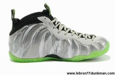 Discount Nike Air Foamposite One Cool Grey/Volt/Camo Fashion Shoes Shop