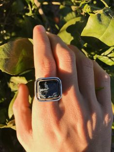 Adjustable Size 7 to 9 24 Ct Rhodochrosite Pink Sterling Silver Artisan Ring Gift Box Large Chunky 22 Grams AAA Grade  FREE SHIPPING