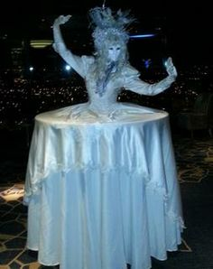 Human Tables, ss seen on Dragons' Den, available for hire Human Tree, Event Decor, Corporate Events, Masquerade, A Table, Champagne, Trees, Parties, Ice