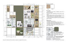 Interior Design Layout, Interior Sketch, Interior Concept, Layout Design, Plans Architecture, Architecture Details, Interior Architecture, Classical Architecture, Presentation Board Design