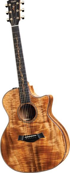 Taylor K24ce Koa Grand Auditorium Acoustic-Electric Guitar Natural