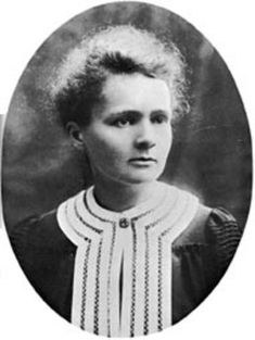 Marie Curie ~ Polish physicist and chemist famous for her pioneering research on radioactivity. She was the first person honored with two Nobel Prizes[1]—in physics and chemistry. She was the first female professor at the University of Paris, and in 1995 became the first woman to be entombed on her own merits in the Panthéon in Paris.[2]  http://en.wikipedia.org/wiki/Marie_Curie