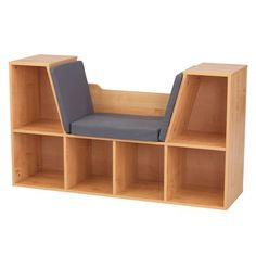Charmant Cabinets U0026 Storages Bookcases Shelves   14232   Bookcase With Reading  Nook Natural   Mansion Schools