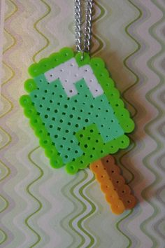 Perler Bead Popsicle by Destynation on Etsy