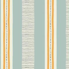 Glan y Môr Stripe fabric