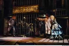 Sweeny Todd, the Demon Barber of Fleet Street. Today in rehearsal, I got to be one of the psychos behind bars.. YAY! gonna be a great show:)