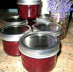 Equal Opportunity Kitchen: Rhubarb and Saskatoon Jam Rhubarb Recipes, Jam Recipes, Canning Recipes, Wine Recipes, Great Recipes, Recipies, Favorite Recipes, Saskatoon Recipes, Saskatoon Berry Recipe