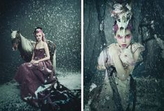 Fine Fettle: Fashion Photography: Let it Snow