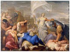 Męczeństwo św. Urszuli Wawrzyniec Pasinelli, ok. 1680-85 Pinacoteca Nazionale w Bolonii, Emilia-Romania