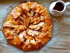 Dessert Deception: Apple Galette with Caramel Sauce | Healthy Eats – Food Network Healthy Living Blog
