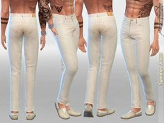 Available in 2 colors. Found in TSR Category 'Sims 4 Male Everyday'