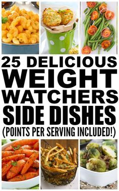 While broccoli, roasted potatoes, and butternut squash make fabulous, healthy sides, I like to add a little ooompf to my meals, and this collection of 25 weight watchers side dishes lets me do just that! From mac and cheese to cinnamon roasted Brussels sprouts to toasted brown rice, we've found a healthy recipe with points for everyone!