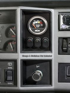 '84 - '96 Cherokee & Comanche In-Dash DIY Gauge & Switch Panel