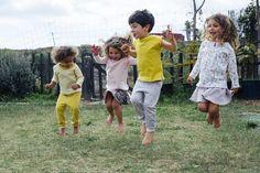 Ropa para niñ@s que juegan en libertad