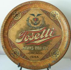 Tosetti Beer  serving tray