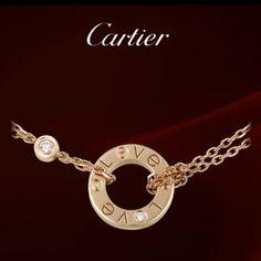 Cartier LOVE Necklace. PRICE: $2,150