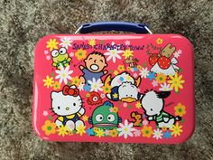Hello Kitty Lunch Box, Sanrio Character Town Vintage, Very Rare, Great Collectible! Retro,Very Good Condition, Vintage Sanrio, Hello Kitty. by Trendzilly on Etsy https://www.etsy.com/listing/220735696/hello-kitty-lunch-box-sanrio-character