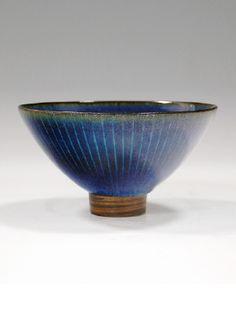 Artist: Harrison McIntosh, Title: Untitled Blue Bowl, c. 1994  - click for larger image