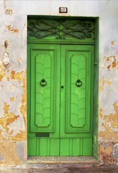 Green Door, Malta │ #VisitMalta visitmalta.com