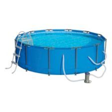 Hydro Force Steel Pro Frame Pool Set Is Quick And Easy To Set So You Can Relax And Play All Above Ground Swimming Pools Round Above Ground Pool In Ground Pools