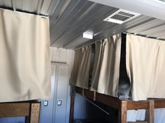 Customer photo from General Shelters Bunk Bed Curtains, Curtains Living, Bunk Beds, Shelters, Tiny Homes, Surf, Home Decor, Double Bunk Beds, Surfing