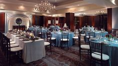 Photo of the Magnolia Room Courtesy of the Omni Richmond Hotel. Flowers by Victoria Floral Designs