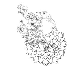 Adult Coloring Colouring Books Pages Silk Painting Cool Tattoos Free Printable Mandala Tattoo Ideas Black And White Design