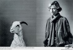 Read more: https://www.luerzersarchive.com/en/magazine/print-detail/maerz-35694.html Maerz So this is what they made out of my mohair. Now who could possibly bleat about that! Claim: März makes the fashions, nature the material. 1985 spread for März brand knitwear. On this and the following page, work produced in the 1980s by German advertising man Carlos Obers (see interview on pages 1-5). Tags: Carlos Obers,Rudolf Wiesmeier,Oswald Lukossek,Walter Schels,Maerz,Euro RSCG, Munchen
