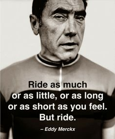 Ride as much or as little,…