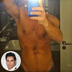 Is John Stamos the New Zac Efron? See His Shirtless Selfie http://www.people.com/article/john-stamos-selfie-shirtless-body